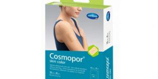 Cosmopor Skin Color, un apósito de HARTMANN que protegeheridas o cicatrices de la exposición solar