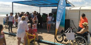 """La Playa d' Almardá elegida este año como """"La playa más accesible de los Fans"""""""
