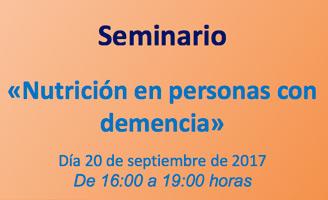 geriatricarea CRE Alzheimer Nutrición en personas con demencia