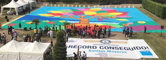 geriatricarea Sanitas Mayores Alzheimer Guinness World Record