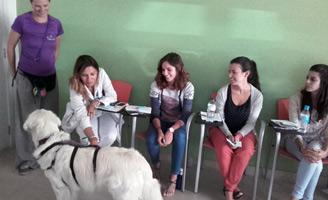 geriatricarea terapia con perros Alzheimer Clece