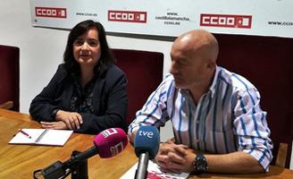geriatricarea CCOO Sanidad y Servicios Castilla-La Mancha Chelo Cuadra