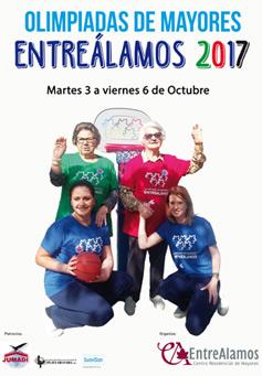 geriatricarea EntreAlamos Olimpiadas de Mayores 2017