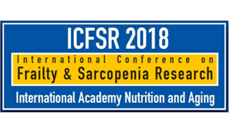 geriatricarea ICFSR 2018 International Conference Frailty Sarcopenia Research