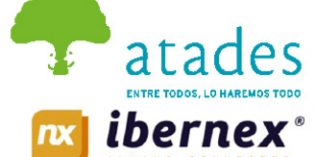 Ibernex colabora con Atades en la inserción laboral y social de personas con discapacidad intelectual