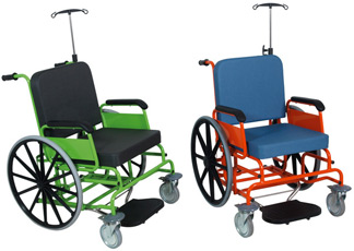 geriatricarea silla de ruedas Hidemar H-515