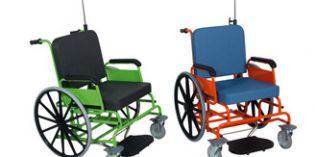 Sillas de ruedas modernas, robustas y funcionales