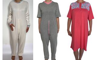 a7ddf59594 geriatricarea Disseny Vital ropa adaptada. Estos pijamas mono antipañal  cuentan con exclusivos estampados para ...