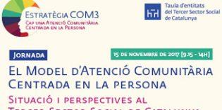 La Taula del Tercer Sector analiza el Modelo de Atención Comunitaria Centrada en la Person