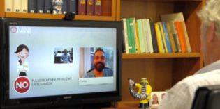OMNI, un sistema de vídeo-asistencia integrado en el televisor para mayores que viven solos