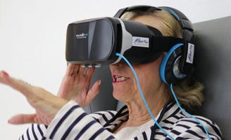 Las interesantes aplicaciones de la Realidad Virtual en el ámbito de la Geriatría