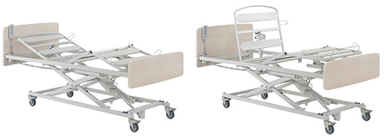 geriatricarea cama medicalizada XPRIM 3 Winncare