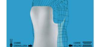 OKM presenta un corsé dorsolumbar con velcro lateral que resulta más cómodo