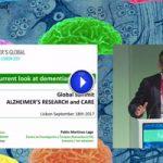 """Vídeo: """"A current look at dementias in Spain"""", por Pablo Martínez-Lage"""