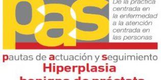 La OMC presenta un nuevo documento formativo sobre la Hiperplasia Benigna de Próstata