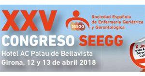 XXV Congreso Nacional de la Sociedad Española de Enfermería Geriátrica y Gerontológica