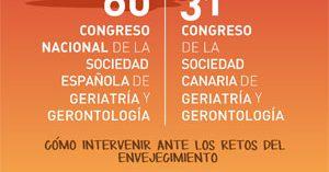 Los retos del envejecimiento protagonizan el 60º Congreso de la Sociedad Española de Geriatría y Gerontología