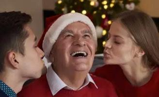 geriatricarea Navidad mayores