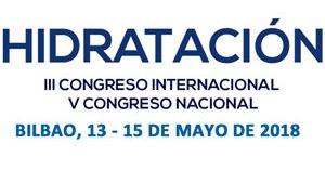 Bilbao acogerá el III Congreso Internacional y V Nacional de Hidratación
