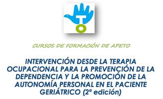 geriatricarea APETO curso Terapia Ocupacional