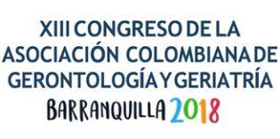 XIII Congreso Colombiano e Iberoamericano de Gerontología y Geriatría