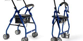 Cadeo, un rollator de sencillo y cómodo plegado