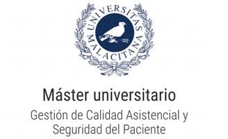 Geriatricarea máster universitario en Gestión de calidad asistencial y seguridad del paciente