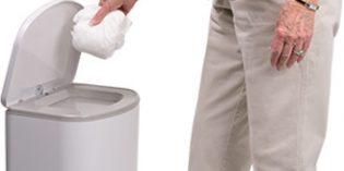 Akord, un eficaz sistema de eliminación y almacenamiento de pañales para adultos