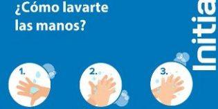El correcto lavado de manos puede evitar la propagación de la gripe