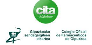 Los farmacéuticos guipuzcoanos colaboran con CITA Alzheimer para concienciar sobre esta enfermedad