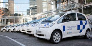 ILUNION incorpora vehículos eléctricos para prestar el servicio de teleasistencia