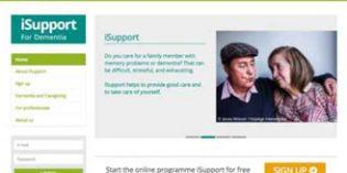 iSupport: un programa de formación online gratuito de la OMS para cuidadores de personas con demencia