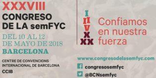 Barcelona acogerá del10 al 12 de mayo el XXXVIII Congreso de la SEMFYC