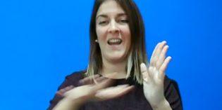 La lengua de signos es ya un criterio necesario en la prestacióndel servicio de teleasistencia