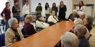 Amavir y ESN SocialErasmus organizan encuentros intergeneracionales en residencias