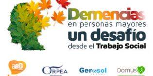 El 31 de mayo tendrá lugar en la sede del Imserso la Jornada ABG Demencias