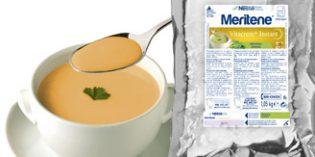 Meritene Vitacrem+ Instant, cremas vegetales para pacientes con disfagia o dificultades de masticación