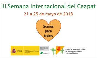 geriatricarea Semana Internacional del Ceapat