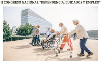 geriatricarea Universidad Rey Juan Carlos congreso Dependencia Cuidados y Empleo