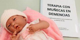 Albertia pone en marcha un proyecto piloto deTerapia con Muñecas para personas con demencia