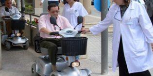 """El proyecto """"Mayores sobre ruedas"""" busca promover la autonomía personal de los mayores"""