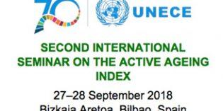Bilbao acogerá en septiembre el Segundo Seminario Internacional sobre el Índice de Envejecimiento Activo
