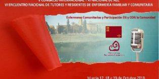 Murcia acogerá el Congreso Nacional de Enfermería Familiar y Comunitaria