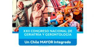 XXII Congreso de la Sociedad de Geriatría y Gerontología de Chile
