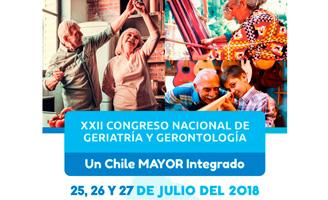 geriatricarea Congreso de la Sociedad de Geriatría y Gerontología de Chile