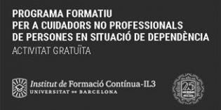 """IL3-UB, Obra Social """"la Caixa"""" y Fundación DomusVi imparten un programa formativo gratuito para cuidadores no profesionales"""