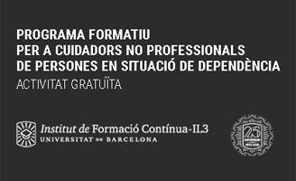 geriatricarea IL3-UB cuidadores no profesionales