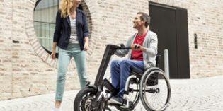 E-Pilot convierte en segundos la silla de ruedas manual en un vehículo
