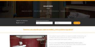 La nueva web de Adom ofrece soluciones para adaptar espacios a personas con discapacidad