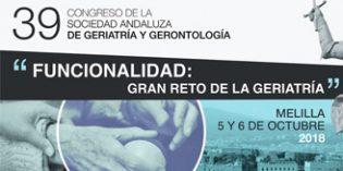Melilla acogerá el 39º Congreso de laSociedad Andaluza de Geriatría y Gerontología